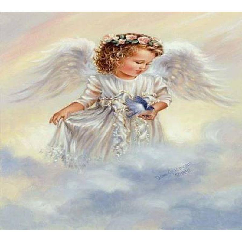 Вышивка ангела готовые работы