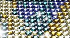 Алмазная мозаика круглыми стразами прозрачными (3)