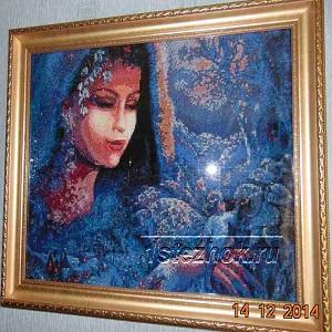 алмазная вышивка фото готовых работ