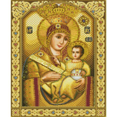 Алмазная вышивка  икона Богородице