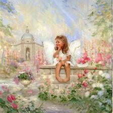 Ангелочек на мосту