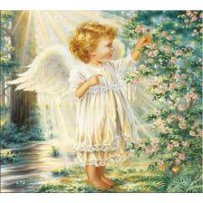Ангелок в солнечном свете