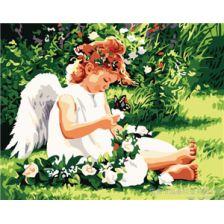 Ангел на солнечной поляне