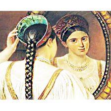 Красавица у зеркала