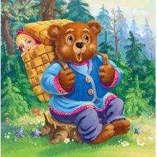 Сказка Маша и медведь