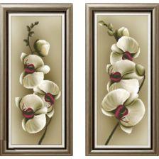 диптих Орхидея