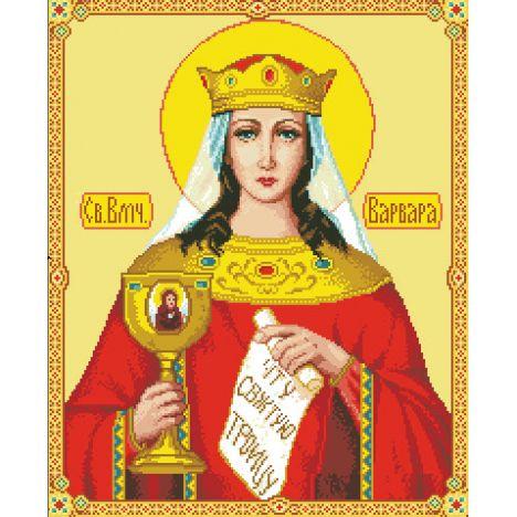 Алмазная вышивка икона Св. Великомученицы Варвары