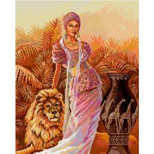 Девушка со львом