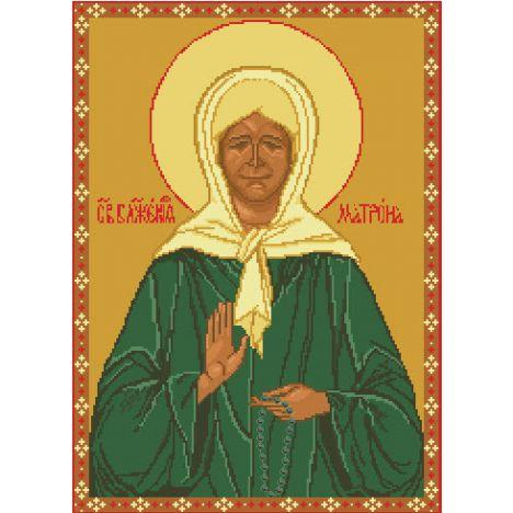 Алмазная вышивка икона Св.Блаженная Матрона Московская