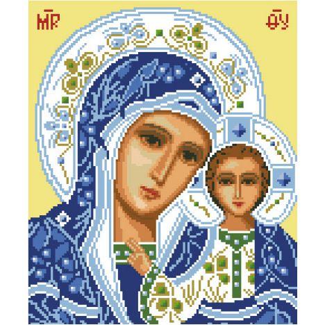 Алмазная вышивка икона Пресвятая Богородица Казанская