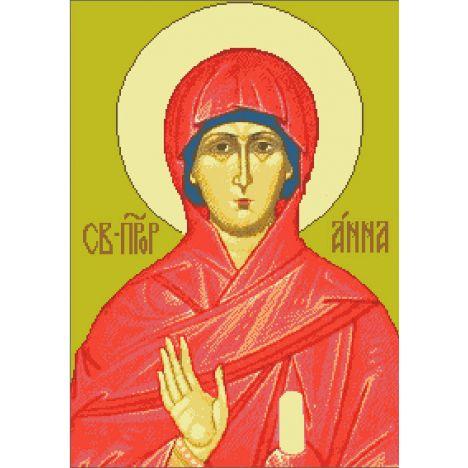 Алмазная вышивка  икона Св. Анна пророчица