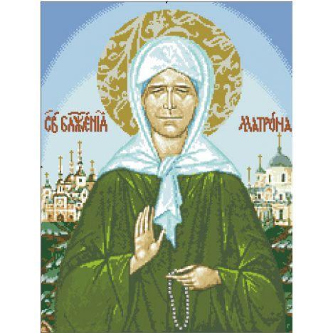 Алмазная вышивка  икона Блаженной Матроны Московской