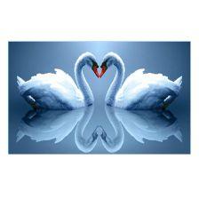 Алмазная вышивка набор Два лебедя