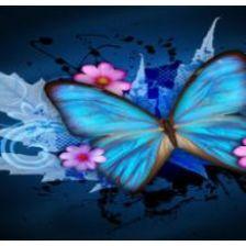 Алмазная вышивка набор Бабочка