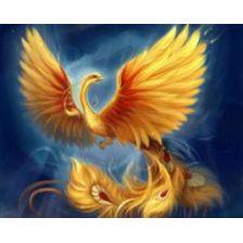 Алмазная вышивка набор Птица-Феникс