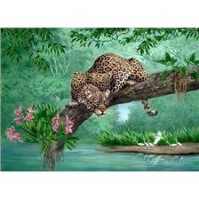 Алмазная вышивка набор Леопард