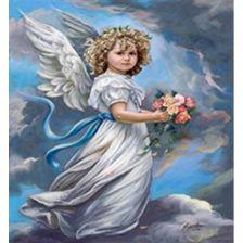 Ангел, дарующий цветы