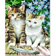Алмазная вышивка набор Кошки