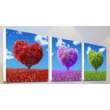 триптих Дерево сердец