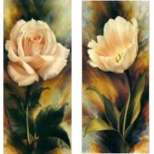 диптих Роза и тюльпан