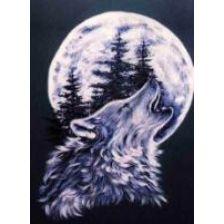 Алмазная вышивка набор Волк