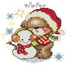 Мишуля зимой