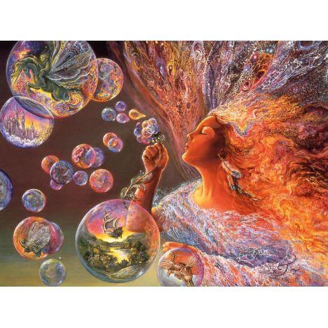 Алмазная вышивка Мыльные пузыри