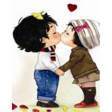 Алмазная вышивка набор Love is