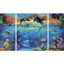 триптих Подводный мир