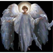 Ангел с голубями