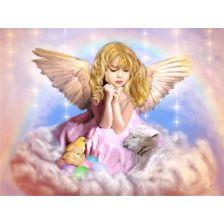 Алмазная вышивка Ангел Пасхи