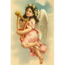 Ангел, играющий на лире