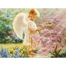 Ангелочек в райских кущах