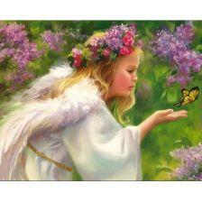 Ангел с бабочкой