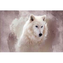 Алмазная вышивка набор Белый лис