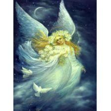 Ангел в ночном небе