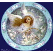 Ангел на тарелке