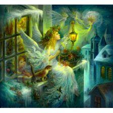 Ангел за окном