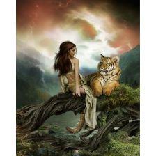 Фея с тигром