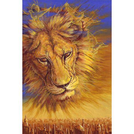 Алмазная вышивка Небесный лев
