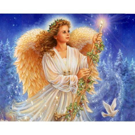 Алмазная вышивка набор  Ангел рождества
