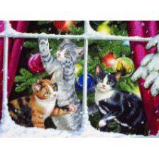 Новогодние котятки
