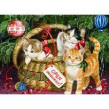 Новогодние котята
